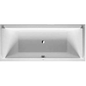 Baignoire Duravit Starck 1800 x 800 mm - avec pieds - Acrylique Blanc