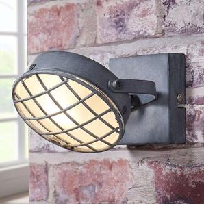 Spot LED Tamin gris fumé, style industriel