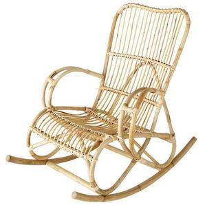 Rocking chair en rotin Louisiane