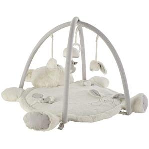 Tapis déveil bébé ourson en coton 70x90