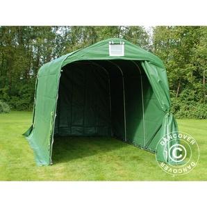 Tente de stockage Tente Abri PRO 2,4x3,6x2,34m PVC, Vert - DANCOVER