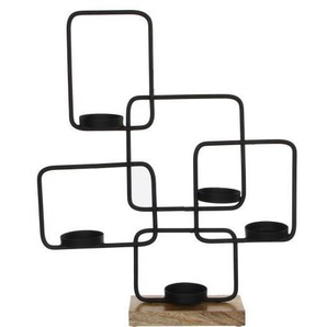 EDELMAN Bougeoir - Noire - L45 x l10 x H53 cm