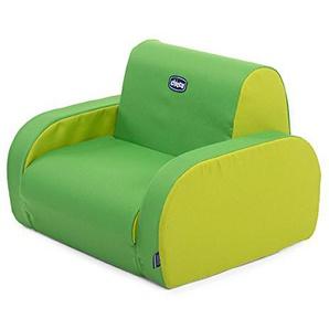 Chicco Fauteuil Twist Gris Wimbledon (Multicolore) - 3 Configurations - Divan - Fauteuil - Chaise Longue