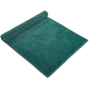Möve Tapis de Bain Bamboo Luxe Turquoise 60x60 cm - Tapis pour salle de bain