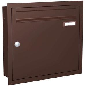 Boite aux lettres encast. Express Box Up 110, brun