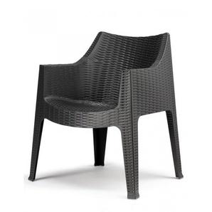 Chaise tissée design - MAXIMA - deco