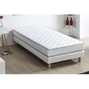 Matelas mousse 90 x 190 - Confort ferme - Epaisseur 16 cm - DEKO DREAM Kiva