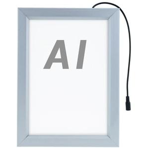 PrimeMatik - Cadre photo 635x880mm illuminé par double face signe ad affiche LED A1