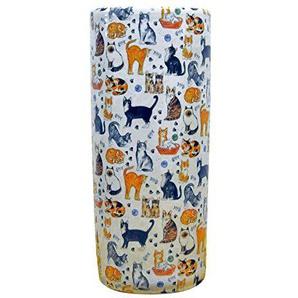 AcaciaHome 45,7cm Chat en céramique Les Amoureux Animal Support Parapluie
