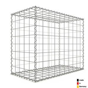 Gabion 100x80x50cm « made in Germany » - mailles carrées 10x10cm - GABIONDECO