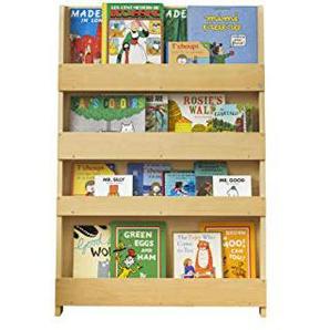 Tidy Books ® - Bibliotheque Enfant | Etagere Murale de Rangement pour Livres | Montessori a la Maison | Meuble Bois | 115 x 77 x 7 cm | Ecoresponsable | Fait Main | LOriginale depuis 2004