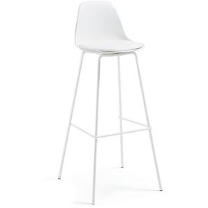 Tabouret Brighter blanc hauteur 75 cm - LA FORMA