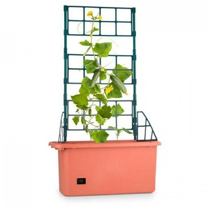 Waldbeck Power Planter Pot de plantes 75x130x35cm Tuteur 3 étages Plastique PP