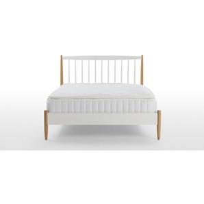 Tuvo, matelas king-size 160 x 200 cm, Essentiel et dessus à coussinet, blanc
