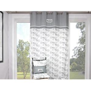 SOLEIL DOCRE Rideau à Œillets Calèche 135X250 cm - 100% coton - Imprimé