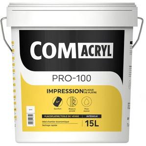Sous-couche acrylique blanche top rapport qualité/prix : Comus Comacryl Impression (15L) - Gris pour sous-couche