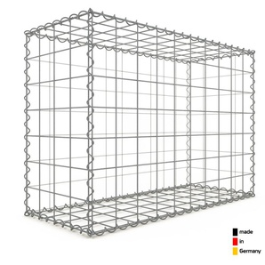 Gabion 100x70x40cm « made in Germany » - mailles carrées 10x10cm - GABIONDECO