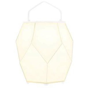 COUTURE-Lampe dextérieur LED solaire Aluminium/Batyline H56cm Blanc Maiori - designé par Normal Design