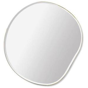 ferm LIVING Miroir Pond S - noir et blanc/lxHxP 52x50x1,5cm