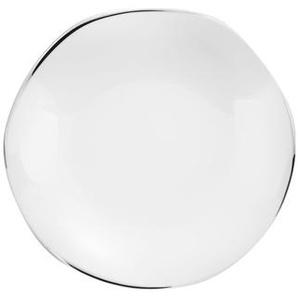Etincelle Platine - Coffret 6 assiettes plates