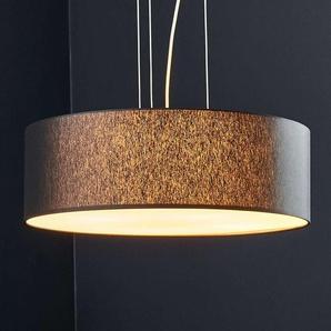 Suspension LED Gala, 50cm, chintz noir