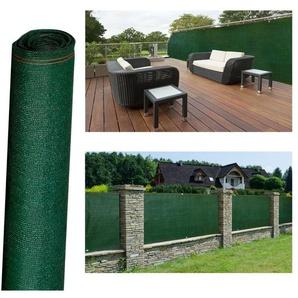 Brise vue haute densité vert 1 x 10 m 300 gr/m² qualité pro - PROBACHE