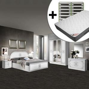 Solaya - Chambre Complète 160x200cm + Sommier AltoSenso + Matelas Bermudes