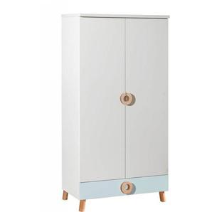 Armoire Chloé deux portes - Bleu