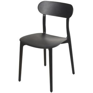 Chaise noire Eve