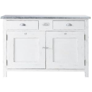 Buffet 2 portes 2 tiroirs blanc Sorgues