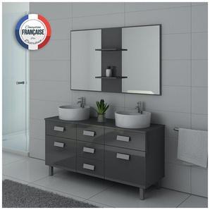 Meuble de salle de bain DIS911 Gris taupe - DISTRIBAIN