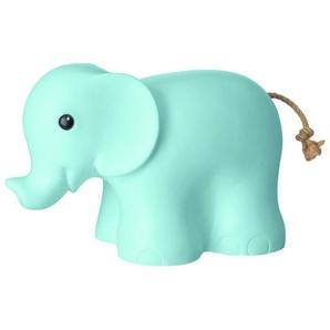 ELEPHANT-Lampe à poser / Veilleuse LED Eléphant L29cm bleu pâle Egmont Toys - designé par Gaëtane Lannoy
