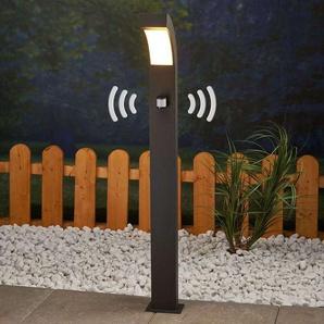 LED Eclairage Exterieur avec Detecteur de Mouvement Lennik en aluminium - LUCANDE