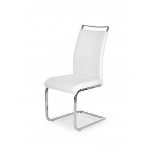 Chaise design épuré blanche Manille