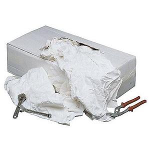Sans marque Chiffon en tissu blanc supérieur Coton