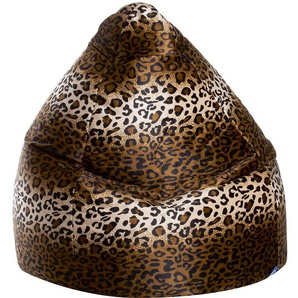 Pouf poire Afro panthere XXL - SITTING POINT