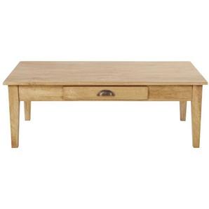 Table basse 2 tiroirs en manguier recyclé Cezanne