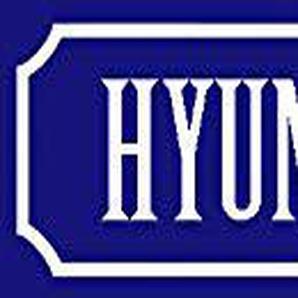 generisch Plaque en métal pour Hyundai Parking Only 46 x 10 cm