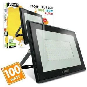 Projecteur LED 100W 8500 Lumens IP65   Température de Couleur: Blanc chaud 3000K - ECLAIRAGE DESIGN