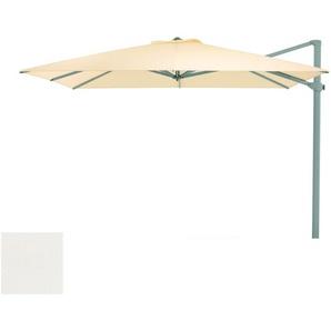 Weishäupl Parasol déporté - carré - Bolan blanc