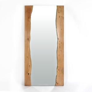 Miroir en acacias grand modèle style brut