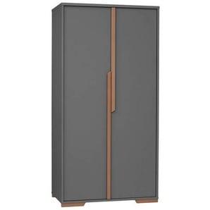 Armoire 2 portes noire collection Snap