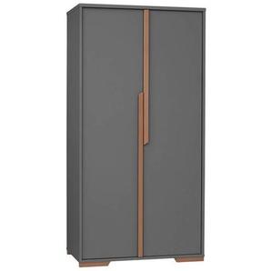 Grande armoire 2 portes SNAP - Noir