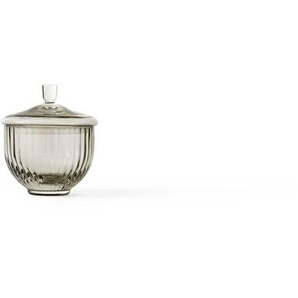 Lyngby Porcelæn Bonbonnière en verre Lyngby  - couleur fumée - Ø 8 cm