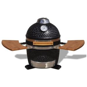 Kamado Barbecue au charbon de bois en céramique 44 cm - HOMMOO