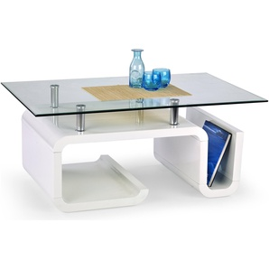 JUSTyou Esperanza Table basse 48x70x110 Transparent