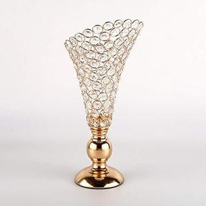 Penao Chandelier en Cristal, bougeoir de Mariage Vintage, décoration de Maison, 17cmx37cm