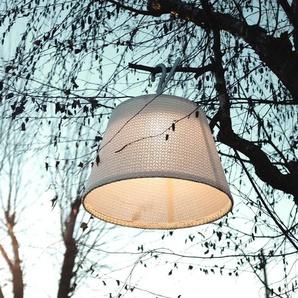 TOLOMEO PARALUME OUTDOOR-Suspension dextérieur LED avec crochet Ø52cm Blanc Artemide - designé par Michele De Lucchi & Giancarlo Fassina