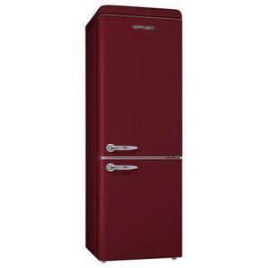 Réfrigérateur Combiné Schneider Consumer Group SCB300VWR - 300 litres Classe A+ Bordeaux