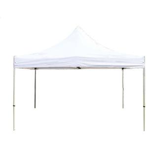 Tente pliante 4x4 m sans bâches de côté blanc PROFESSIONAL tente pliable ALU pavillon barnum - INTENT24.FR